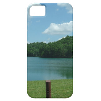 Summer Day Lake Scene Case For The iPhone 5