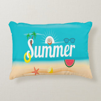 Summer Decorative Pillow
