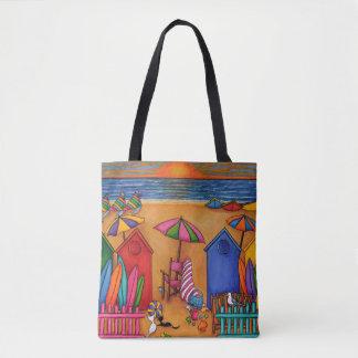Summer Delight Beach Bag by Lisa Lorenz