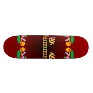 Summer design skate deck