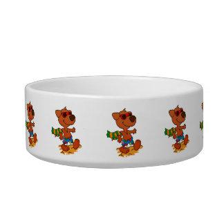Summer dog bowl