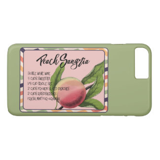 Summer Drinks Peach Sangria iPhone 8 Plus/7 Plus Case