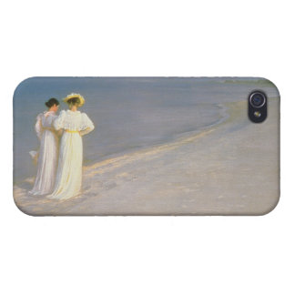 Summer Evening on the Skagen Southern Beach iPhone 4 Cover