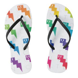 Summer Fade Flip Flops
