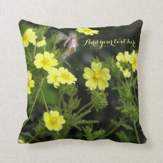 Summer fairy garden Pillow