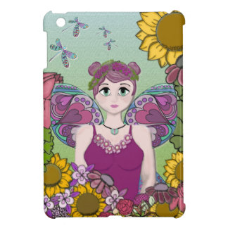 Summer Fairy with Dragonflies Case For The iPad Mini