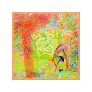 summer fantasy gallery wrapped canvas