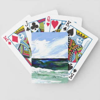 Summer Fantasy Ocean Art Seascape Sky Poker Deck