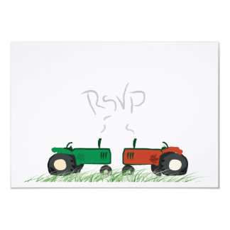 Summer Farm Wedding RSVP Card