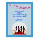 Summer Fashion Show Poster