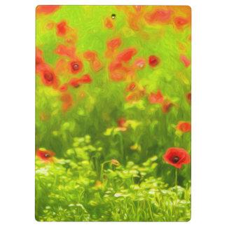 Summer Feelings - wonderful poppy flowers I Clipboards