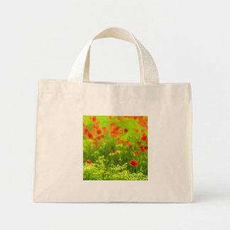 Summer Feelings - wonderful poppy flowers I Mini Tote Bag