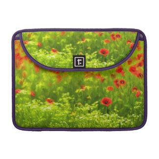Summer Feelings - wonderful poppy flowers I Sleeves For MacBooks