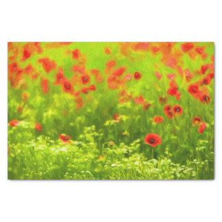 Summer Feelings - wonderful poppy flowers I Tissue Paper