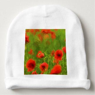 Summer Feelings - wonderful poppy flowers II Baby Beanie