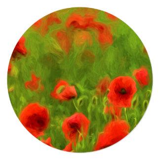 Summer Feelings - wonderful poppy flowers II Card