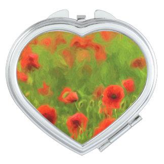 Summer Feelings - wonderful poppy flowers II Makeup Mirror