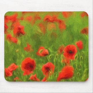 Summer Feelings - wonderful poppy flowers II Mouse Pad