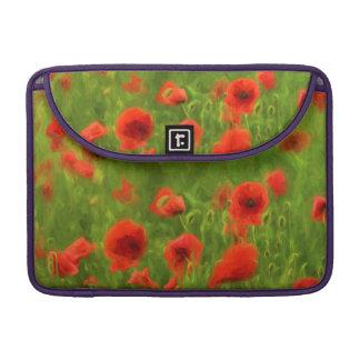 Summer Feelings - wonderful poppy flowers II Sleeves For MacBooks