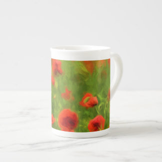 Summer Feelings - wonderful poppy flowers II Tea Cup