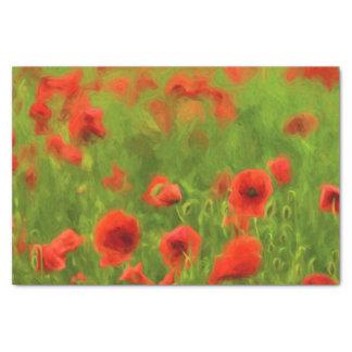 Summer Feelings - wonderful poppy flowers II Tissue Paper