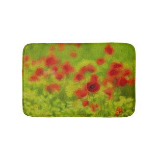 Summer Feelings - wonderful poppy flowers III Bath Mat