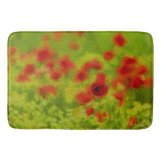 Summer Feelings - wonderful poppy flowers III Bathroom Mat