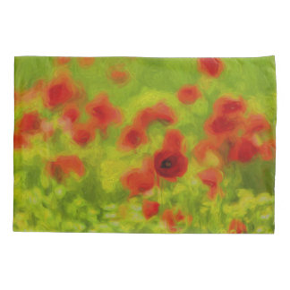 Summer Feelings - wonderful poppy flowers III Pillowcase