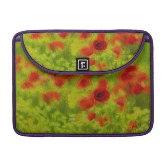 Summer Feelings - wonderful poppy flowers III Sleeves For MacBook Pro
