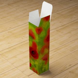 Summer Feelings - wonderful poppy flowers III Wine Boxes