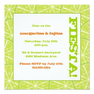 Summer Fiesta Invitation