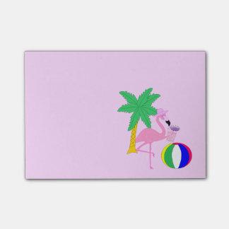 Summer Flamingo Post-it Notes
