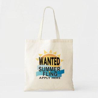 Summer Fling Tote Budget Tote Bag