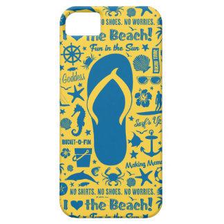 Summer Flip Flop Pattern iPhone 5 Cases