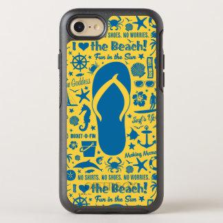 Summer Flip Flop Pattern OtterBox Symmetry iPhone 7 Case