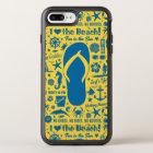 Summer Flip Flop Pattern OtterBox Symmetry iPhone 8 Plus/7 Plus Case