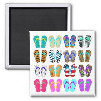 Summer Flip-Flops Chart Magnet