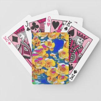 Summer Flower Pop Poker Deck