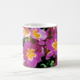 Summer flowers classic white coffee mug