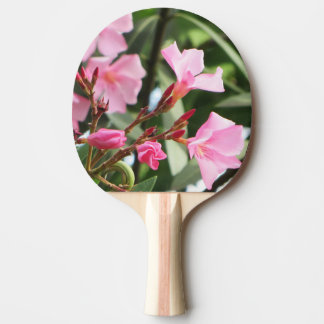 Summer Flowers double-sided Ping-Pong Paddle