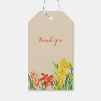 Summer Flowers Gift Tag