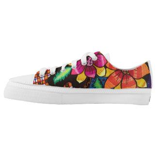 Summer flowers Low-Top sneakers