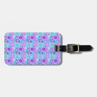 Summer Flowers Luggage Tag