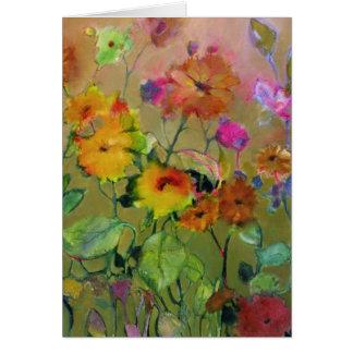 Summer Flowers • Michelle Abrams - card