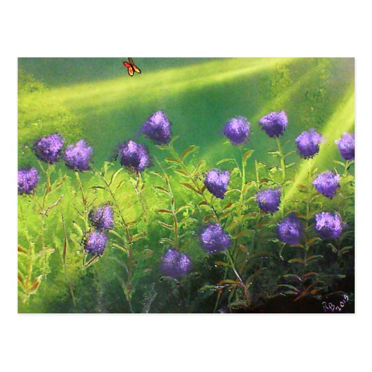 Summer Flowers Postcard