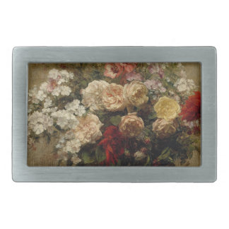Summer Flowers - realism Belt Buckles