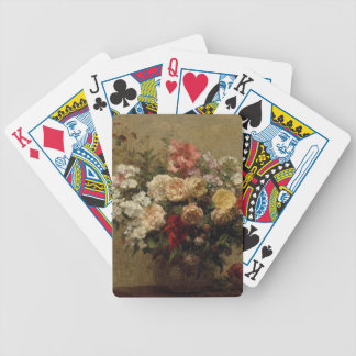 Summer Flowers - realism Bicycle Playing Cards