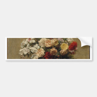 Summer Flowers - realism Bumper Sticker