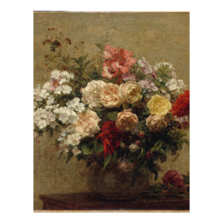 Summer Flowers - realism Letterhead