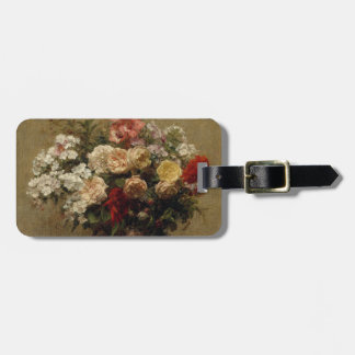 Summer Flowers - realism Luggage Tag